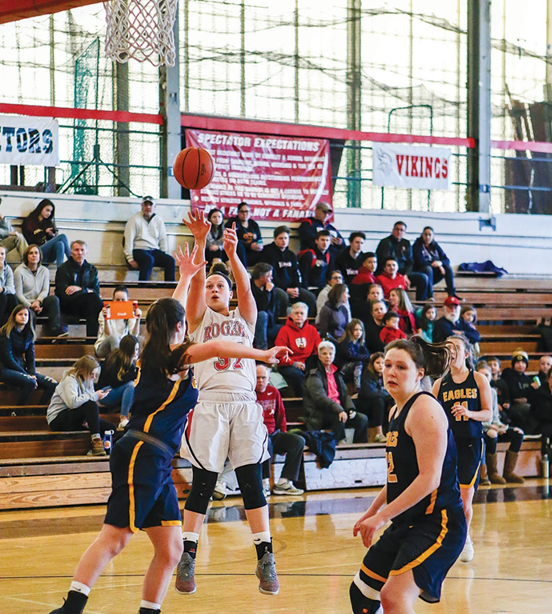Booth Makes Rogers Hoop History Newport This Week