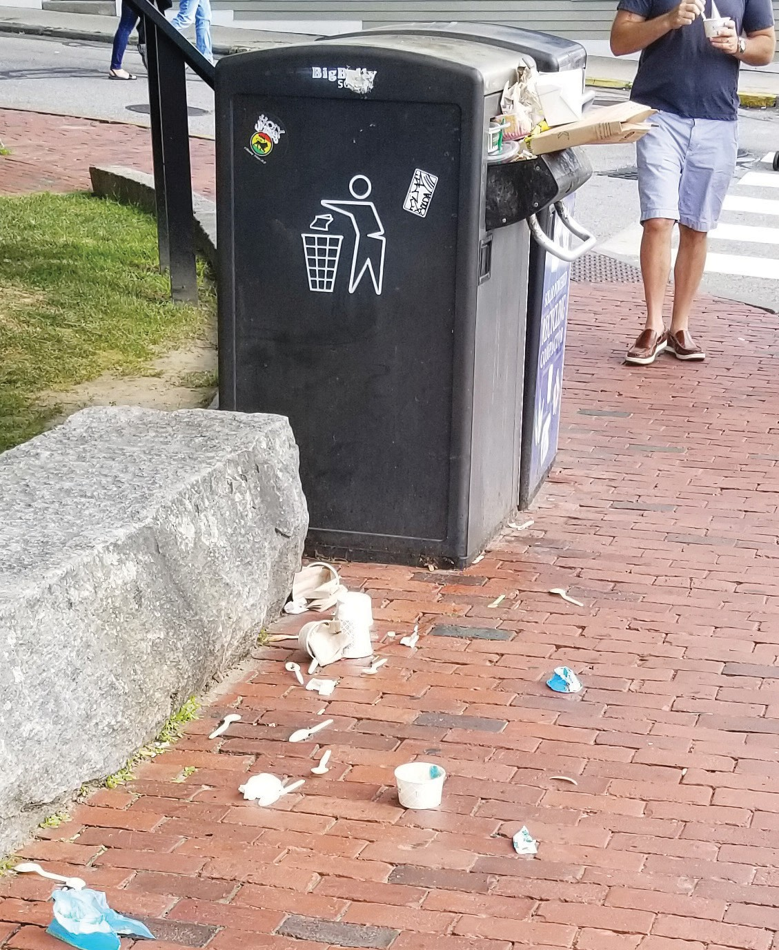 Bigbelly Trash Bins Raise a Stink | Newport This Week