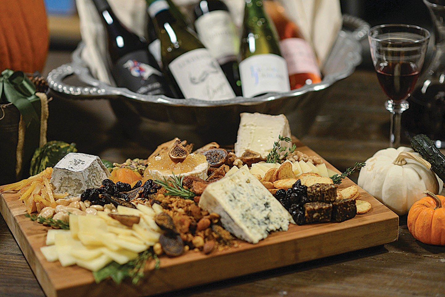 Cheese and Wine for Holiday Cheer ...