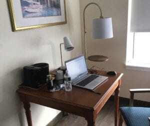 Guest rooms have been offered to individuals working remotely at the Atlantic Beach Hotel.